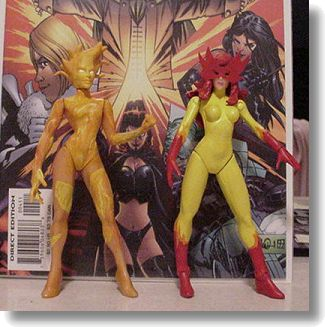 Magma and Firestar